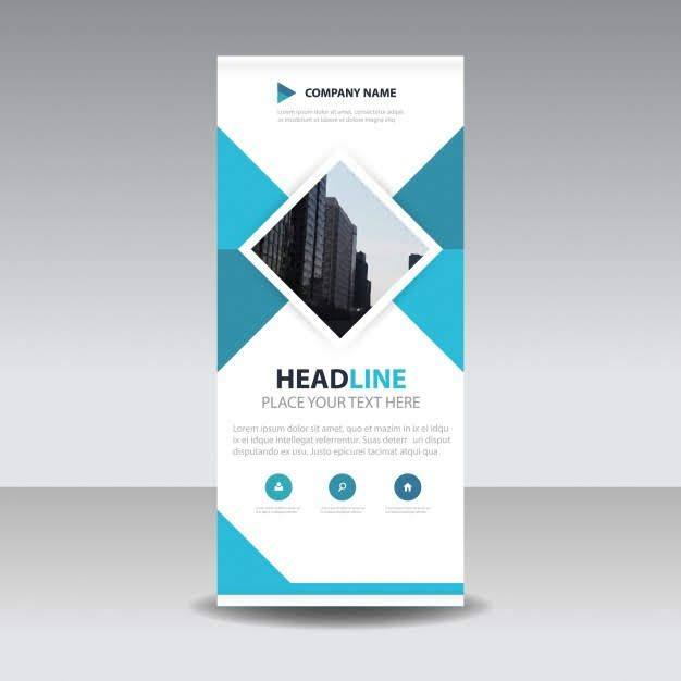 blue-square-creative-roll-up-banner-template_1201-870